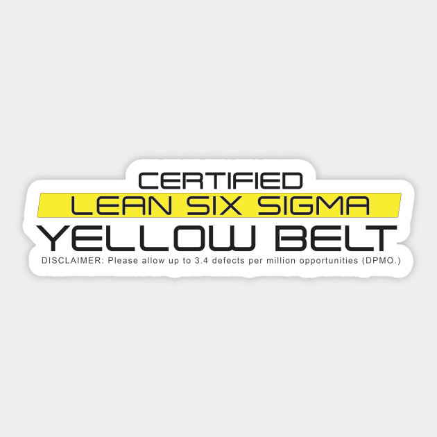 Certified Lean Six Sigma Yellow Belt