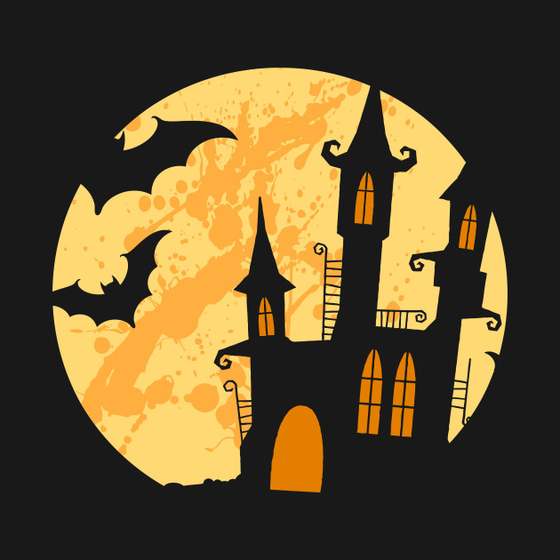 Bat House - Happy Halloween