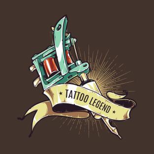 62d46695 Tattoo Legend T-Shirt. by TomCage. $20. Main Tag Tattoo Artist ...