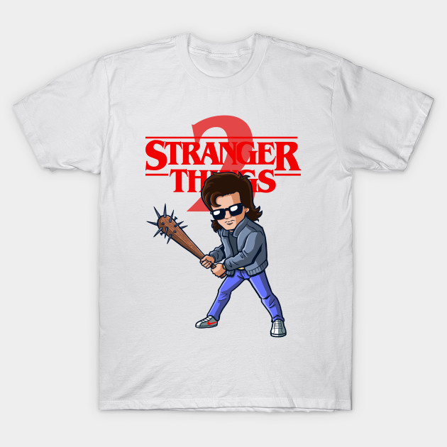 steve harrington stranger things t shirt teepublic. Black Bedroom Furniture Sets. Home Design Ideas