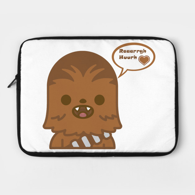 247105cdb Baby Chewie loves you - Darth Vader - Laptop Case | TeePublic