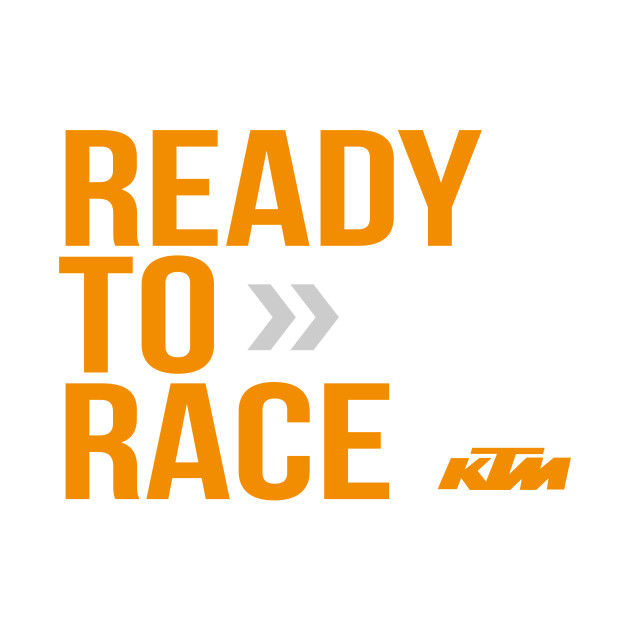 ready to race ktm ready to race t shirt teepublic