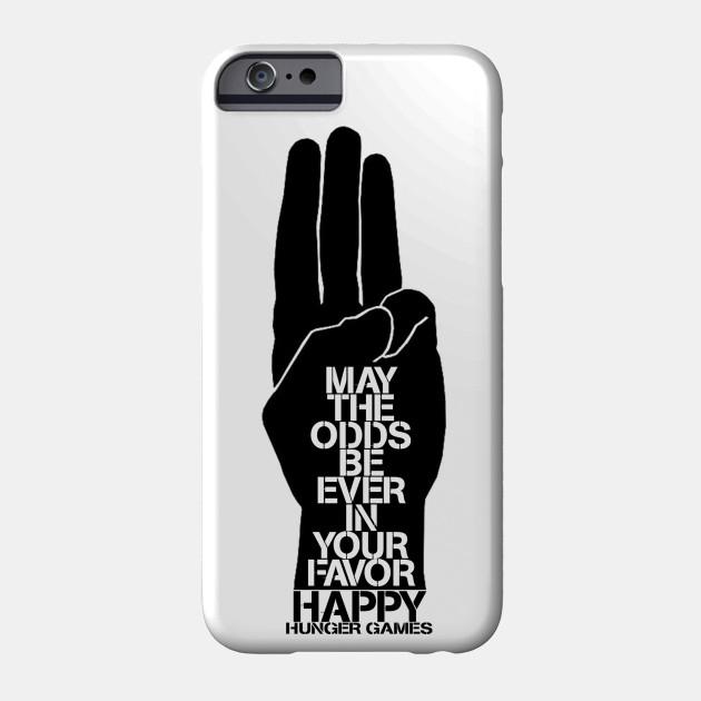Happy Hg Hunger Games Phone Case Teepublic