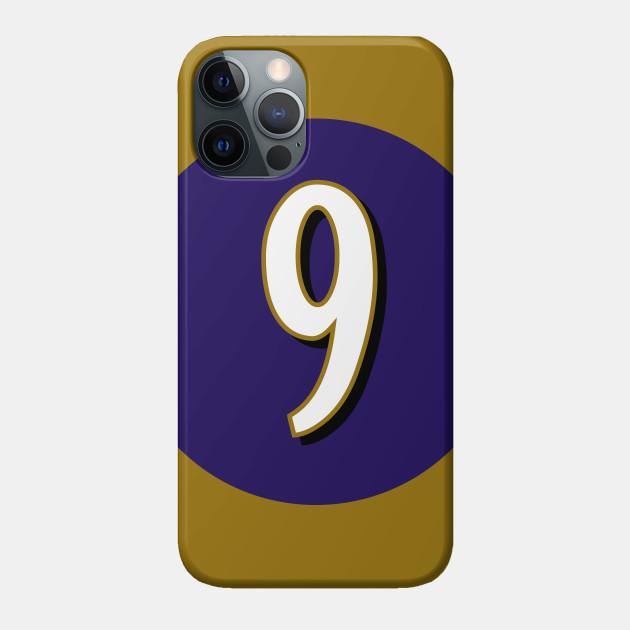 Justin Tucker Baltimore Ravens Number 9 Jersey Inspired