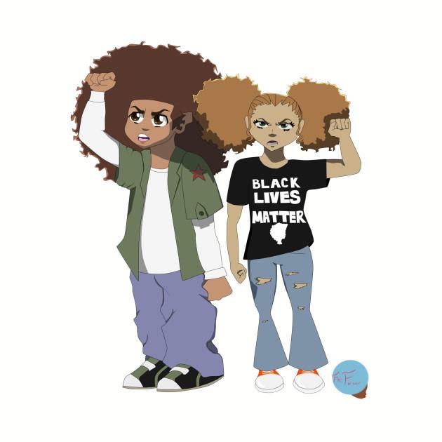 Boondocks Black Lives Matter