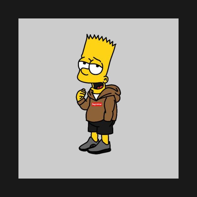 Supreme The Simpsons: Supreme Simpson - Simpson - T-Shirt