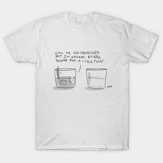 Call Me Old Fashioned Cartoon T Shirt Teepublic
