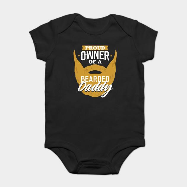 31f6a1cac7b Bearded Daddy - Dad - Onesie | TeePublic
