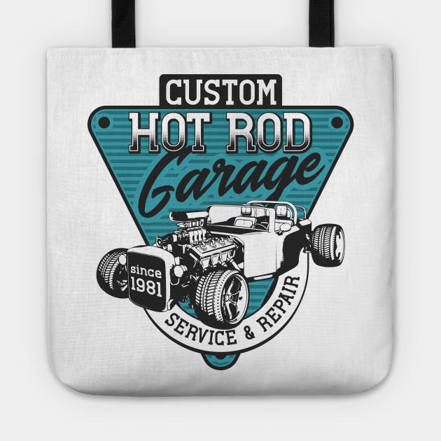 Custom Hot Rod Garage 1981