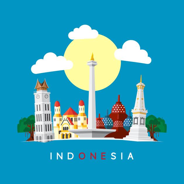 Indonesia  Indonesia Culture  TShirt  TeePublic