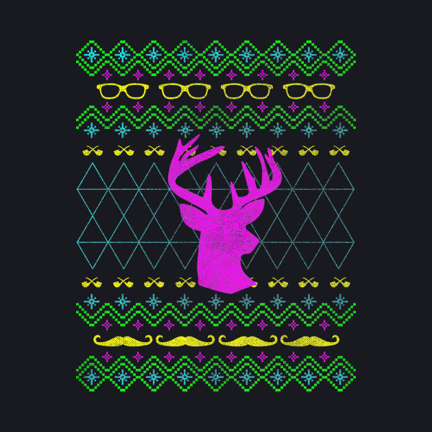 Ugly Hipster Sweater (Neon Edition)