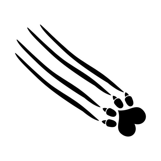 cat paw scratch