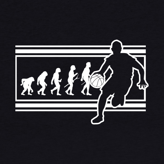 The Evolution of Basketball Funny Sports Player