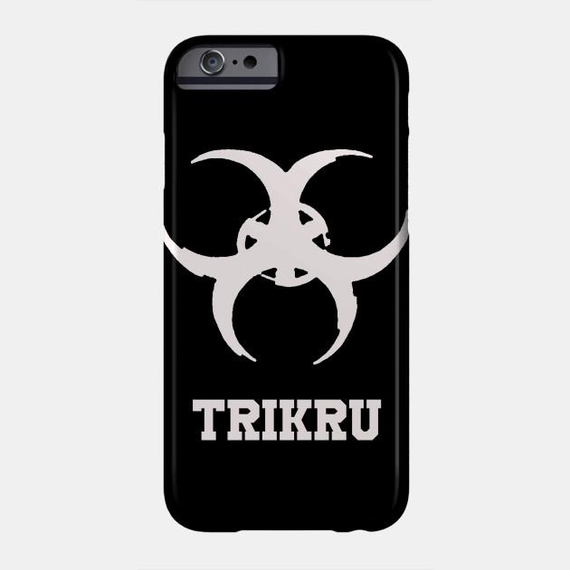 The 100 Trikru Symbol Black iphone case