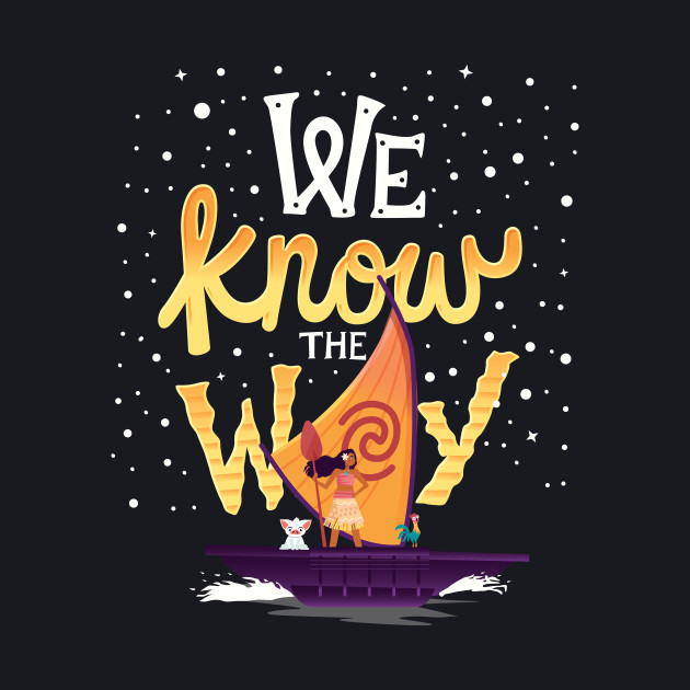 We know the way