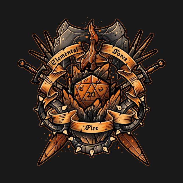 Elemental Force – Fire T-Shirt