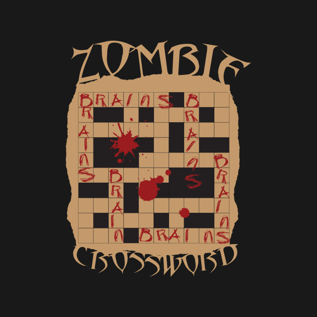 Zombie Crossword Puzzle