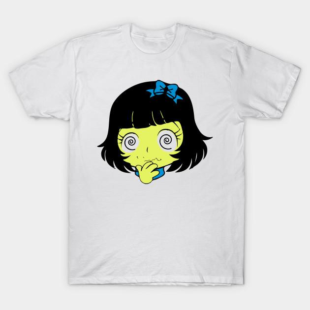 a6104531 Dizzy Confused Anime Manga Girl Face - Anime - T-Shirt | TeePublic