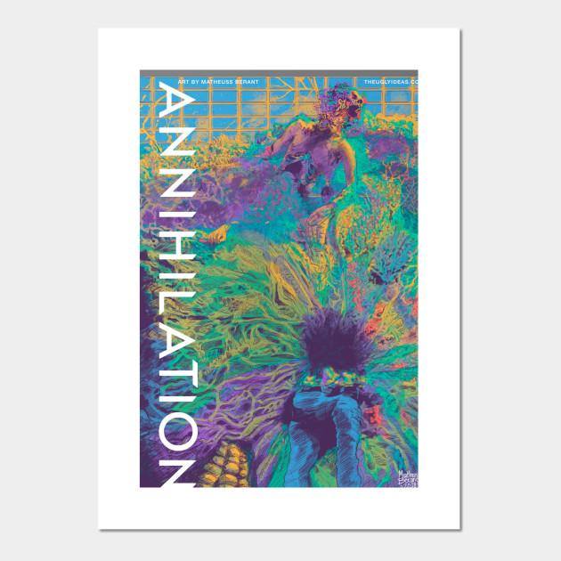 0e0d30ce600 Annihilation Fanart Poster - Annihilation - Posters and Art Prints ...