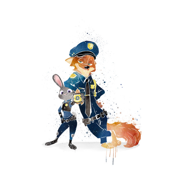 Fox Cop and Bunny Cop