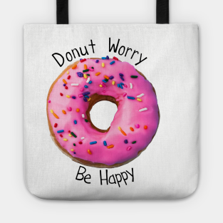 DONUTS VARIETY ICING DONUT SWEETS BLACK COTTON FABRIC FQ