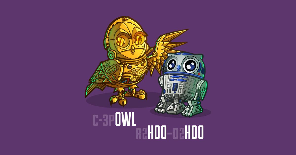 R2hoo d2hoo owl sticker teepublic