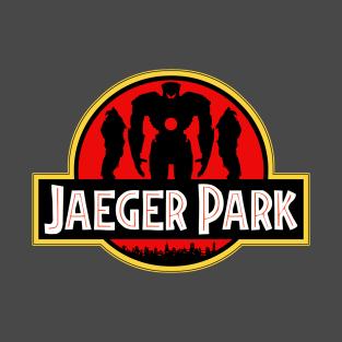 Jaeger Park - Jurassic Park/Pacific Rim parody t-shirts