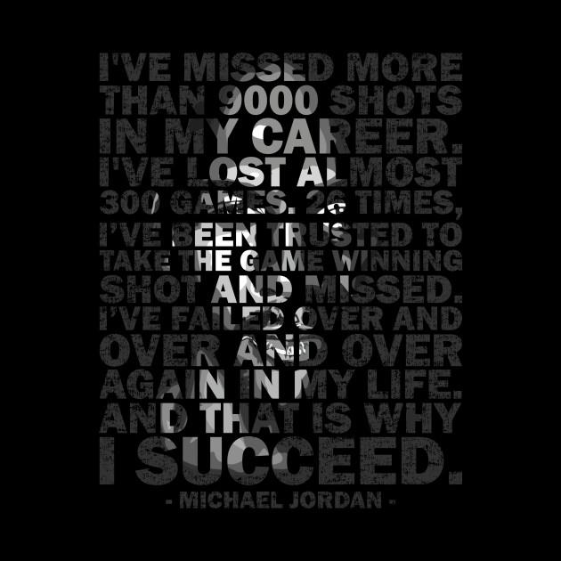Michael Jordan Succeed