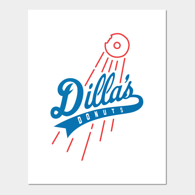 Dilla's Donuts Dodgers