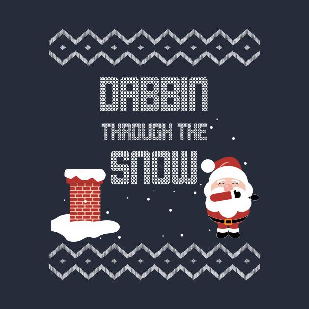 Dabbing Through The Snow Ugly Christmas Sweater - Dabbing Santa ...