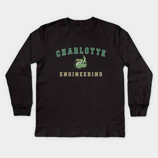 89939addfbf UNC Charlotte Engineering - Unc Charlotte Merchandise - Kids Long ...