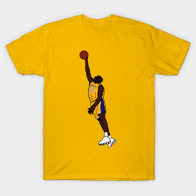 competitive price 8dc83 88630 Shaquille O'Neal Dunk - Los Angeles Lakers