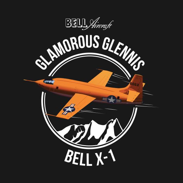 Bell X-1 Supersonic Aircraft Sound Barrier Anniversary Shirt Rocket