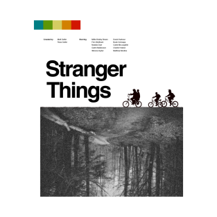 Stranger Things vintage poster t-shirts