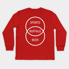 Buffalo New York Sports Beer Kids Long Sleeve T-Shirt 3b1062835