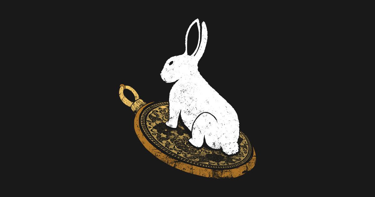 White Rabbit T Shirts Teepublic