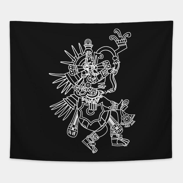 Aztec Quetzalcoatl Drawing