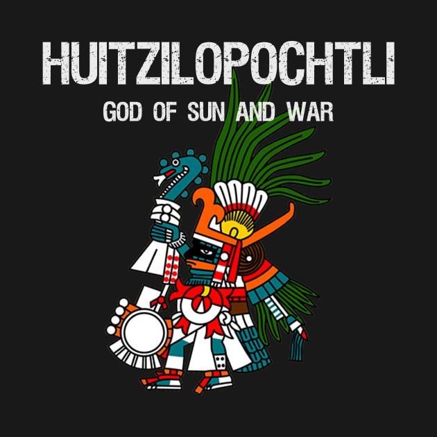 Huitzilopochtli God Of Sun And War