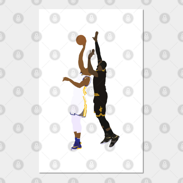 Cleveland Cavaliers The Block Lebron James Poster Print