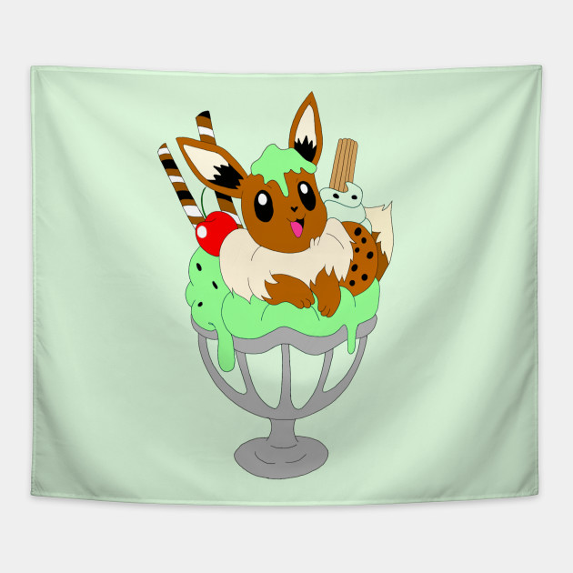 Dog sweet treats ice cream sundae