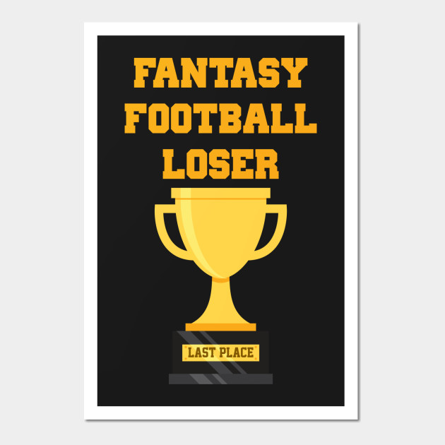 Fantasy Football Loser Last Place Trophy - Fantasy Football Loser ...