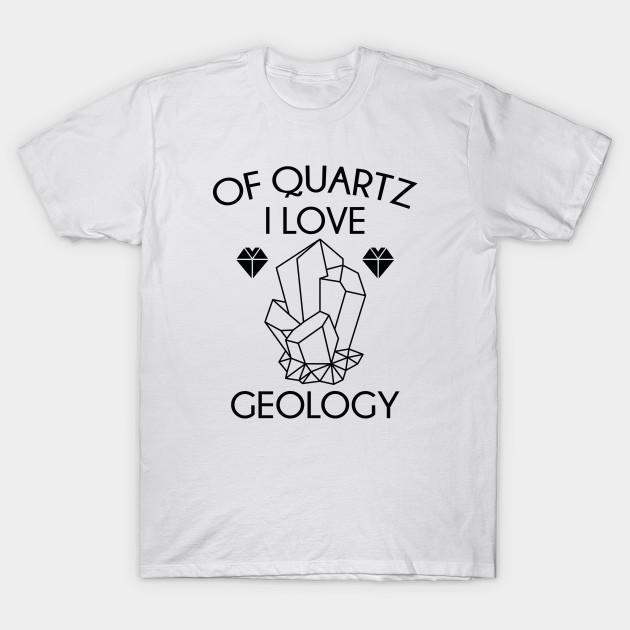 Sweatshirt of Quartz i Love Geology