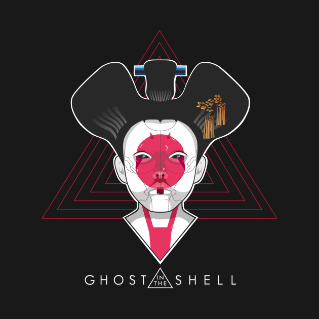 ghost in the shell - the geisha