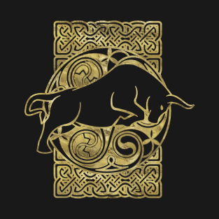 Celtic Bull - Celtic Animal t-shirts