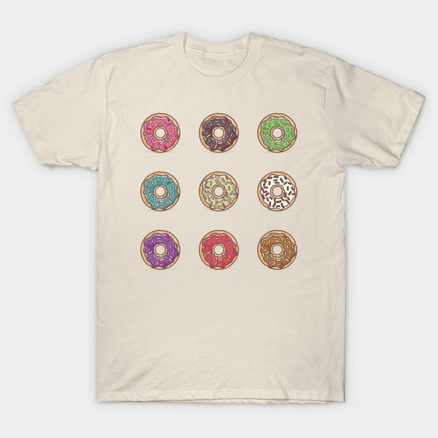 53eba0bb I Love Doughnuts - Donut - T-Shirt | TeePublic
