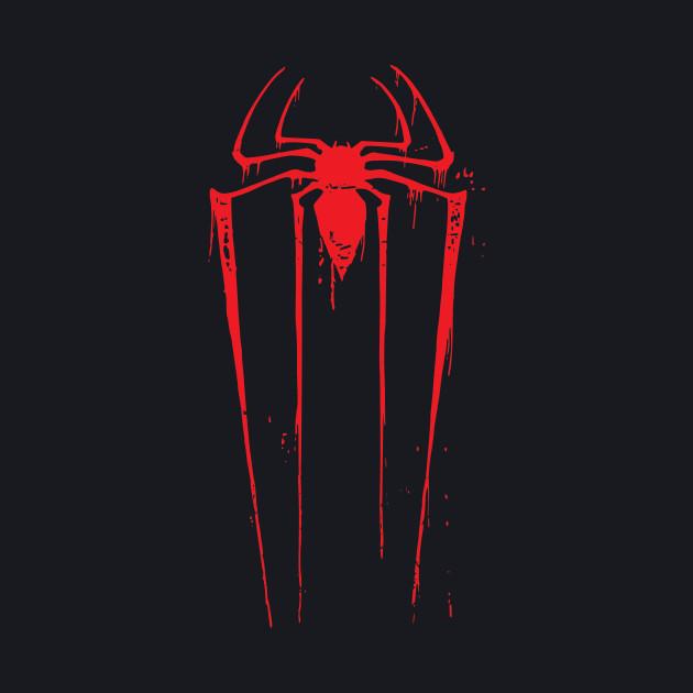 vintage Spiderman Logo