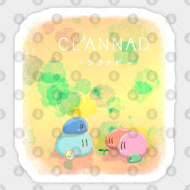 Clannad The Family Dango Sticker Teepublic