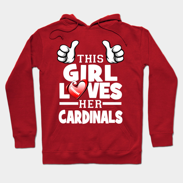 more photos ad504 c9b3b This Girl Loves Her Cardinals