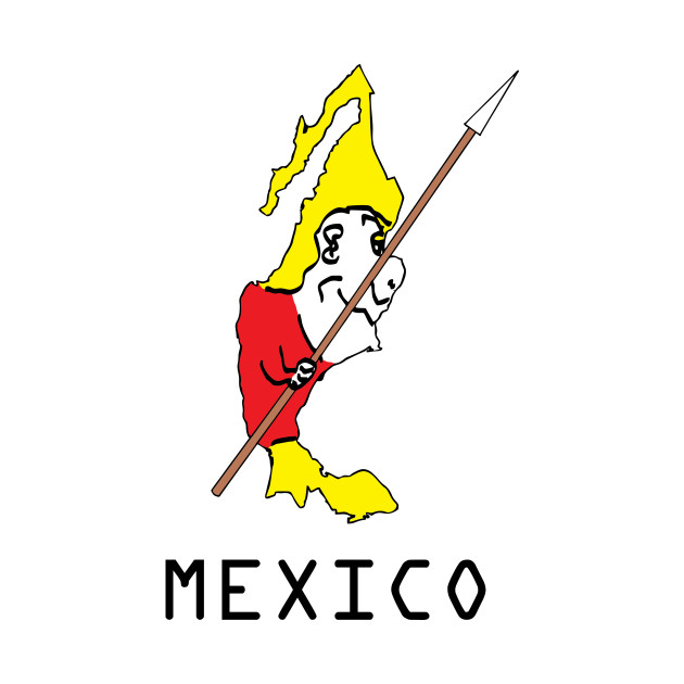 A funny map of Mexico - 2