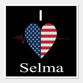 Selma Alabama Map Posters and Art Prints | TeePublic